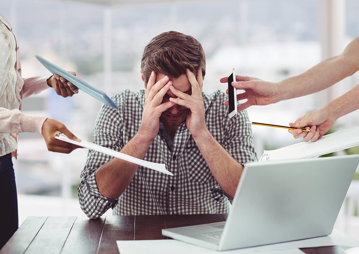 anxiete stress au travail - burn out
